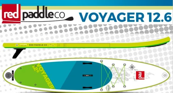 Red Paddle Sweepstakes - Chance To Win Red Paddle Co Voyager 12.6
