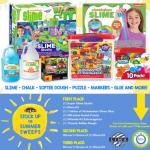 Stock Up for Summer Sweepstakes – Chance To Win Nickelodeon Slime Kit, Nickelodeon Super Slime Studio