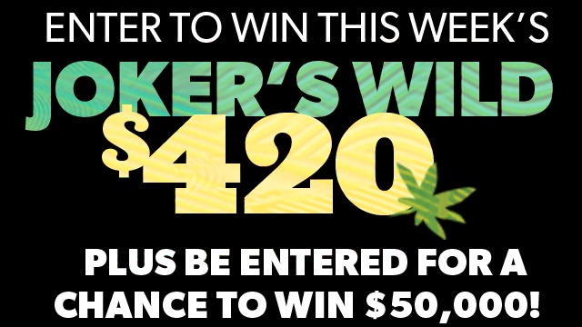 Turner Broadcasting Snoop Dogg's The Joker's Wild Sweepstakes - Chance To Win $50,000 And Weekly Prize