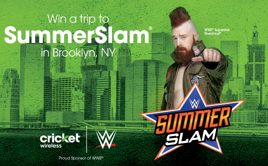 SummerSlam Flyaway Sweepstakes - Chance To Win A Trip To Brooklyn