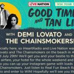 Good Times And Tan Lines Sweepstakes – Stand Chance To Win 2 Surf Club VIP Tickets