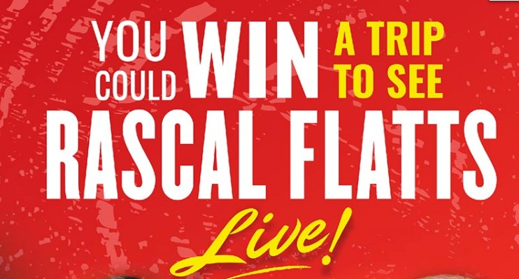 Hostess Rascal Flatts Sweepstakes - Enter To Win A Trip To See Rascal Flatts Concert