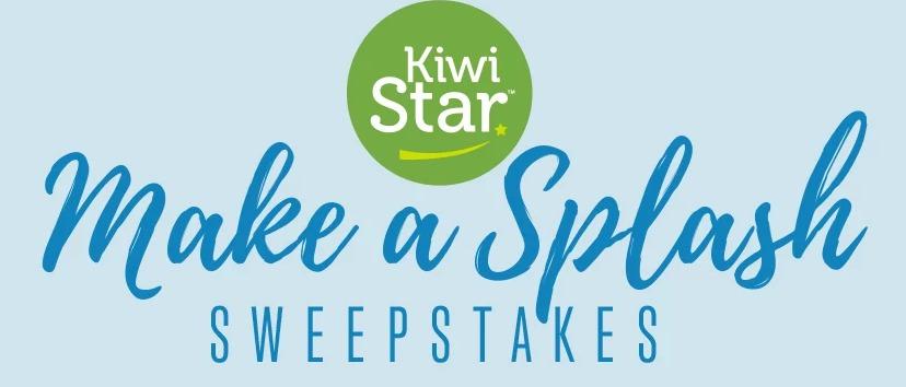 Make A Splash Sweepstakes - Chance To Win $500 Gift Card, Kiwi Pool Float