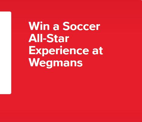 The Soccer All-Star Experience At Wegmans Sweepstakes – Stand Chance To Win A Trip Package
