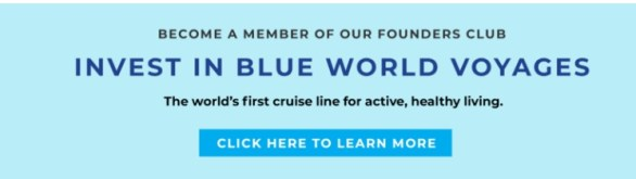 Blue World Voyages Cruise Sweepstakes - Enter To Win Free Blue Water Voyage Cruise And $150 Spa Credit on board Ship