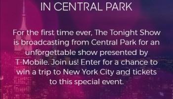 Billboard Music Awards on NBC Trip Sweepstakes - Win A Trip