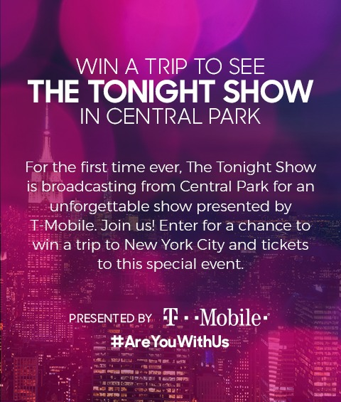 NBC Tonight Show With Jimmy Fallon Sweepstakes - Chance To Win A Trip to New York