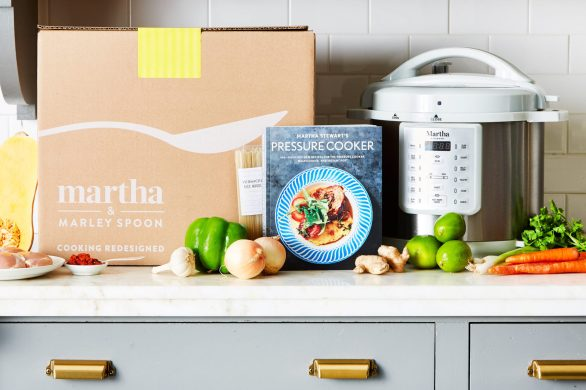 Taste The Ultimate Martha Stewart Sweepstakes - Chance To Win Cooker, Meal kit Boxes, Stewart's Slow Cooker And copy of A New Way to Bake