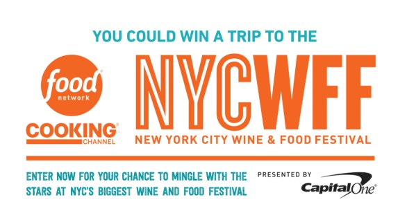 Food Network Magazine NYC Wine & Food Festival Sweepstakes - Enter To Win A Trip To NYCWFF