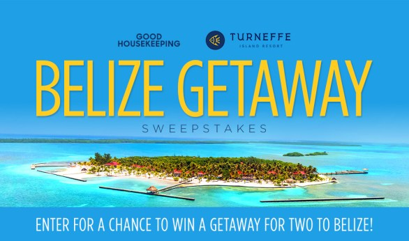 Good Housekeeping Island Resort Sweepstakes - Enter To Win A Gateway For Two To Belize