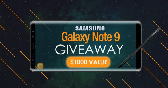 Supcase Giveaway - Chance To Win Samsung Galaxy Note 9