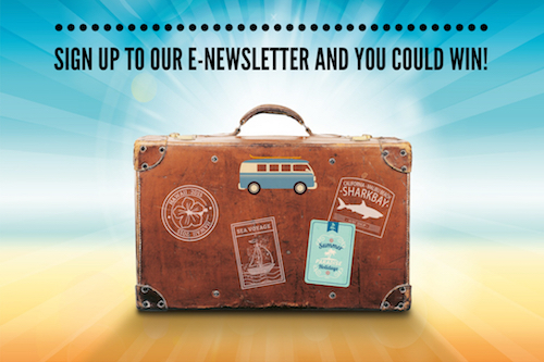 Ultimate Travel Magazine Newsletter Giveaway - Enter To Win $100 Gift Card And A Bottle