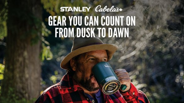 Stanley and Cabela's Canada Adventure Package Sweepstakes - Chance To Win Cooler And Base Camp Cook Set