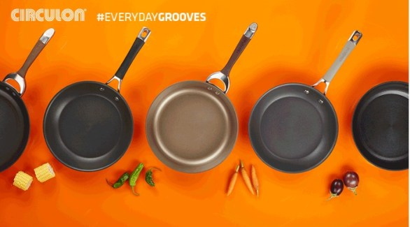 Circulon Everyday Grooves Sweepstakes - Enter To Win Symmetry Chocolate 11-Piece Cookware Set And Elementum 10-Piece Set