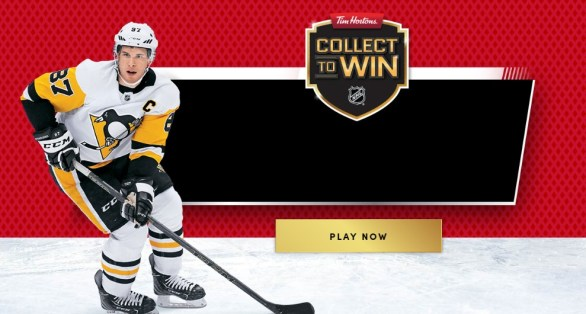 Tim Hortons Collect to Win Contest - Enter To Win A Trip for two to Honda NHL All‑Star Game