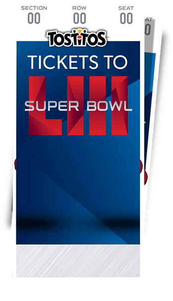 Tostitos Match Up Sweepstakes - Enter To Win Super Bowl LIII Tickets