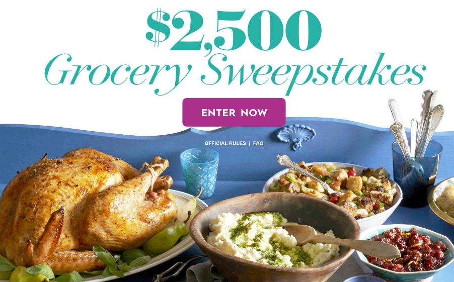 Better Homes And Gardens 2 500 Grocery Sweepstakes Win A 2 500