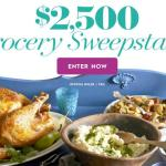 Better Homes And Gardens $2,500 Grocery Sweepstakes – Win A $2,500 Cash