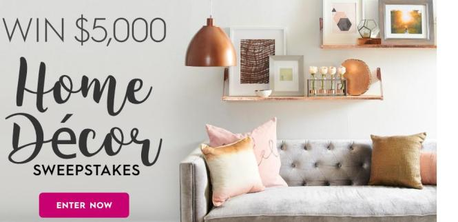 Better Homes And Gardens $5,000 Fall Winter Sweepstakes