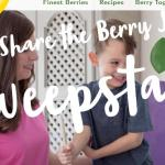 Driscoll's Share the Berry Joy Sweepstakes – Win Berries For A Year