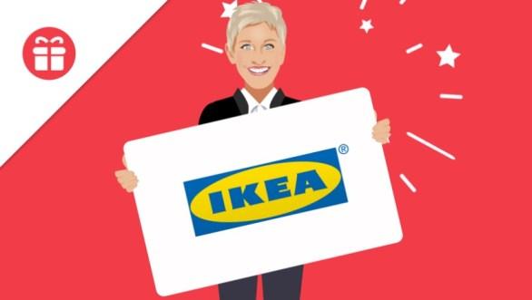 Ellentube $300 IKEA Gift Card Giveaway