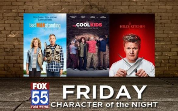 FOX 55's Friday Character Of The Night Sweepstakes – Win Grand Prize