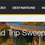 Travel Channel's Fall Color Road Trip Sweepstakes – Win $10,000 Grand Pri