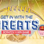 Get In With The Greats Scratch To Win Game Sweepstakes – Win Grand Prize