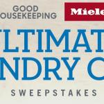Good Housekeeping Miele Ultimate Laundry Care Sweepstakes – Win A Laundry Care Makeover