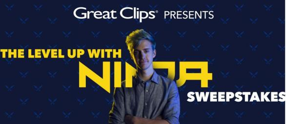 Great Clips Level Up With Ninja Sweepstakes