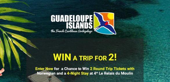 Guadeloupe Islands Tourist Board La Belle Vie Sweepstakes – Win Tickets Prize