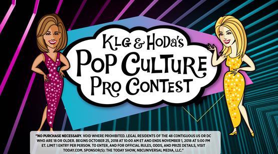 Kathie Lee and Hoda's Pop Culture Pro Contest