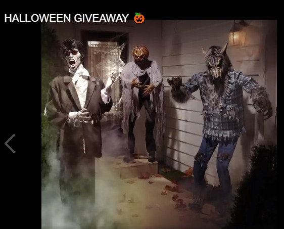 Lowes Halloween Giveaway - Enter To Win A $500 Lowe's Gift Card