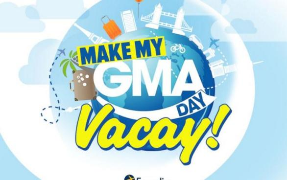 Make My GMA Day Vacay Contest – Win A Trip Package