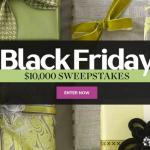 Martha Stewart Black Friday $10,000 Sweepstakes – Win A $10,000 Cash