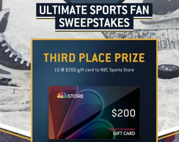 NBC Sports Ultimate Sports Fan Sweepstake