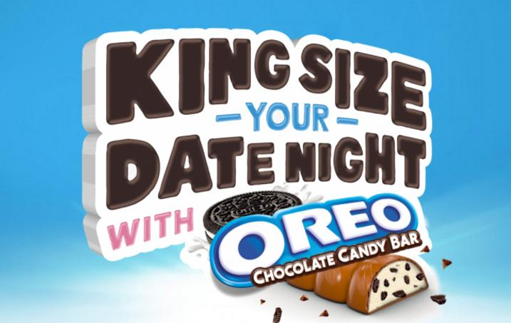 OREO Chocolate Candy Bar Date Night Sweepstakes – Win A Dinner & Movie Tickets