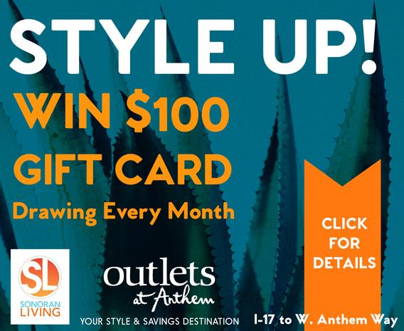 Outlets At Anthem $100 Monthly Gift Card Giveaway – Win A $100 Gift Card