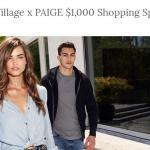 The Palisades Village x PAIGE $1,000 Shopping Spree Giveaway – Win $1,000 Shopping Gift Card