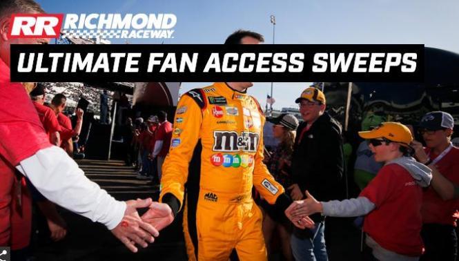 Richmond Raceway Ultimate Fan Access Sweepstakes
