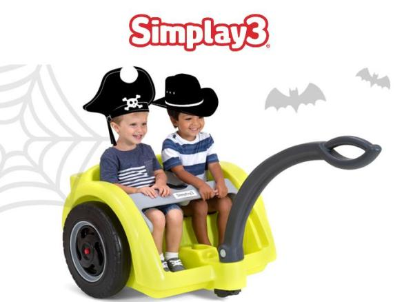 Simplay3 Trail Master 2-Seat Wagon Giveaway – Win Trail Master 2-Seat Wagon
