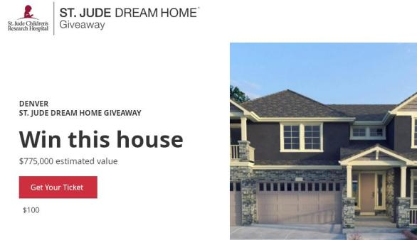 St. Jude Dream Home Giveaway – Win A $10,000 Furniture Shopping Spree