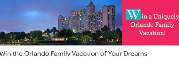 The Visit Orlando Family Vacation Sweepstakes – Win A Trip To Orlando, Florida