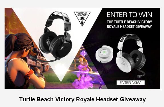 Turtle Beach Victory Royale Headset Giveaway – Win A Gaming Headset