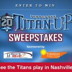 WDEF-TV Titan-Up Sweepstakes – Win Tickets To A Tennessee Titans Home Game