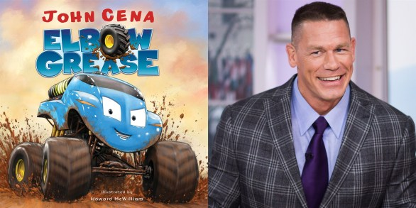 Today Show Elbow Grease Book Giveaway - Chance To Win A Signed Copy Of John Cena's New Children's Book