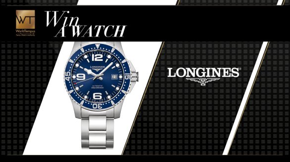 World Tempus Sweepstakes - Enter To Win A Longines HydroConquest watch