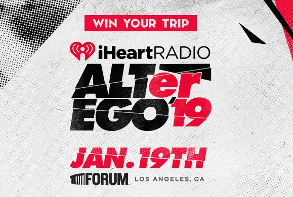 2019 iHeartRadio ALTer EGO Flyaway Phase 2 Sweepstakes