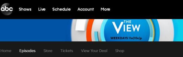 ABC Show The View Black Friday Sweepstakes