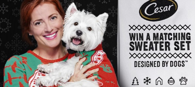 CESAR Twinning Holiday Sweater Instant Win Game